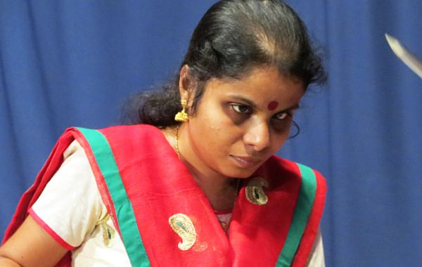 vaikom vijayalakshmi got sight