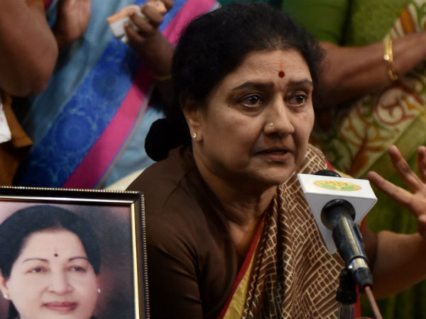 sasikala bold statement