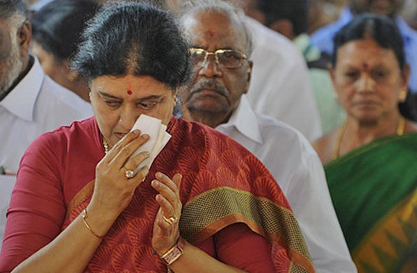 sasikala in jail