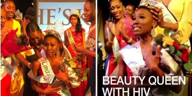 beauty queen with hiv