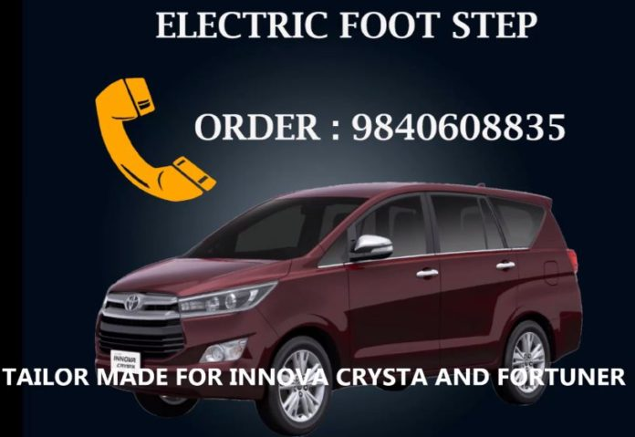Electric Automated Foot Step in cars