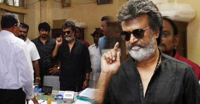 Rajinikanth Kaala introduction scene leaked