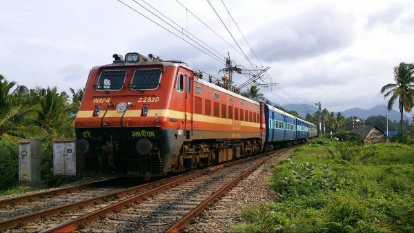 indian railway train