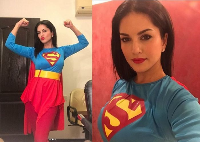 Sunny leone super girl photo