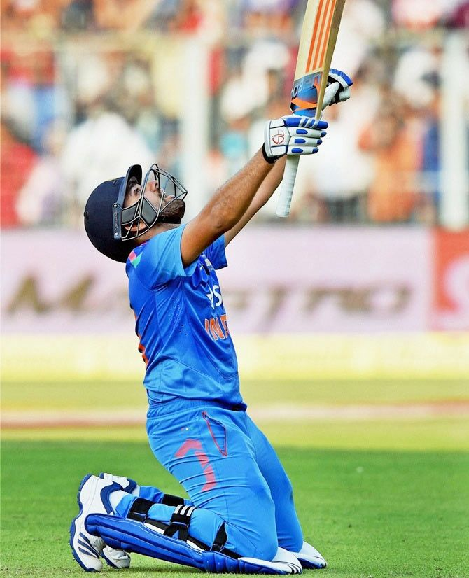 Rohit sarma double centuries