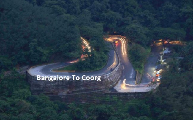 bangalore to coorg