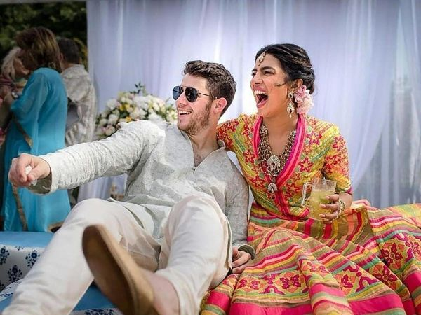 1. Priyanka Chopra Marriage Photos