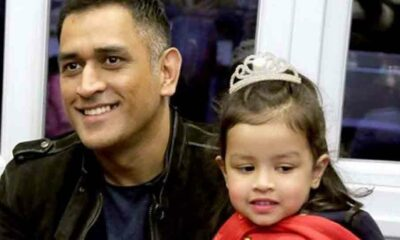 dhoni daughter