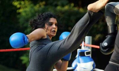 ritika-singh-fight-video