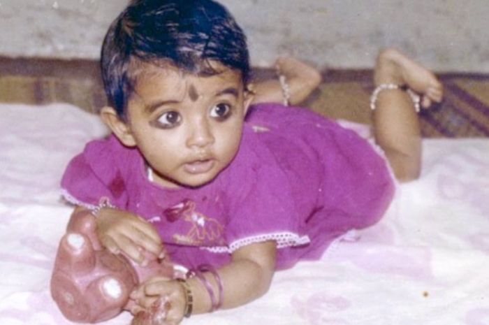 sneha-childhood