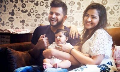 suresh-raina-daughter-video